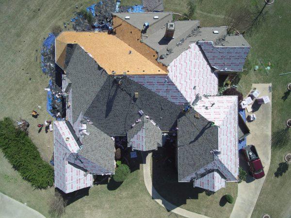 Roof install estimates in Dallas