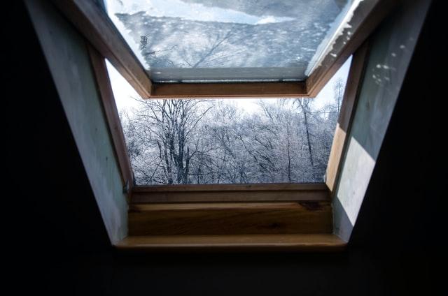 open skylight for ventilation